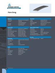 Open productblad - Romein beton