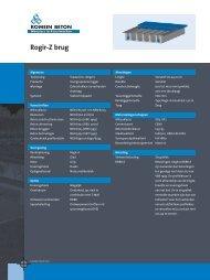 Rogir-Z brug - Romein beton