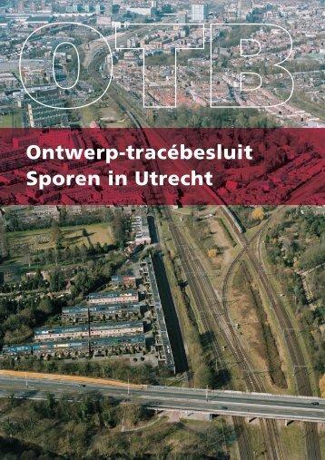 Ontwerp-tracébesluit Sporen in Utrecht