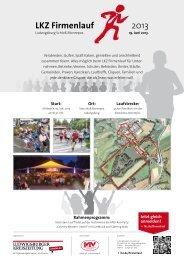 2013 LKZ Firmenlauf