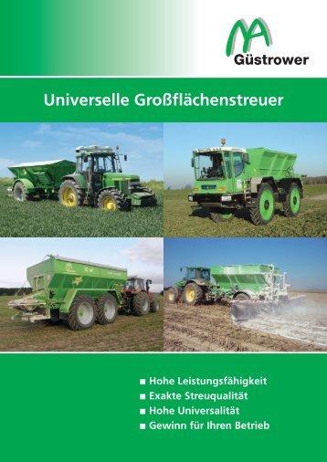 Universelle Großflächenstreuer - Mua-landtechnik.de
