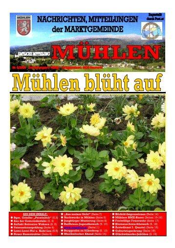 Ausgabe 6/2008 - Mühlen
