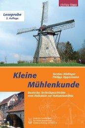 Neuauflage Kleine Mühlenkunde - Deutsche Gesellschaft für ...