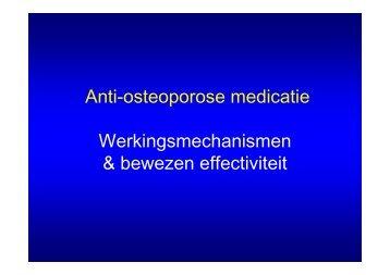 Presentatie osteoporose loag2012 - deel 2