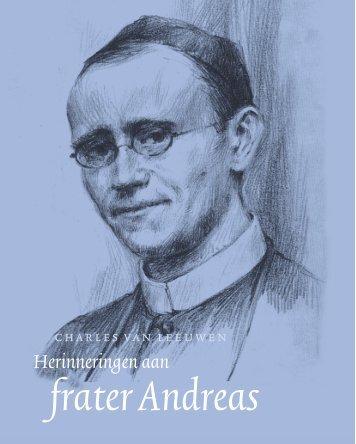 frater Andreas:frater Andreas - Fraters CMM