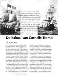 De Kabaal van Cornelis Tromp - paulvandervelde.nl