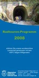 Mit dem Fahrrad in die Natur - ADFC Siegen-Wittgenstein
