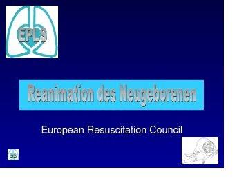 Reanimation Neugeborenes (ERC)