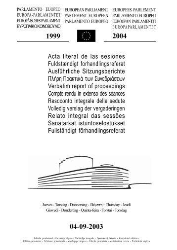 04-09-2003 - Europa