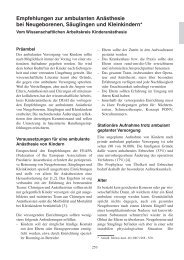 EEV [5. Auflage 2011] - Empfehlungen - DGAI