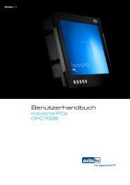 OPC7008 Benutzerhandbuch - ads-tec
