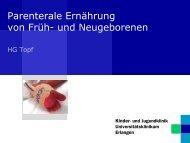 Parenterale Ernährung von Neonaten - Akademie ...