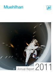 Annual Report 2011 - Muehlhan AG