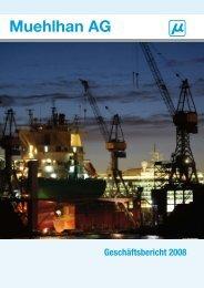 Geschäftsbericht 2008 - Muehlhan AG