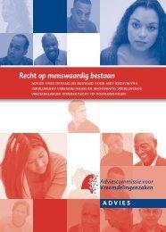 Recht op menswaardig bestaan - ACVZ