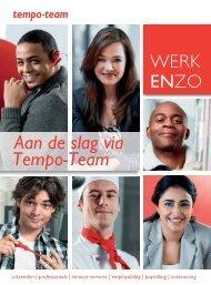 Werk enzo - Tempo-Team