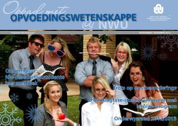 Uitgawe 20-Nov / Des2012 - Potchefstroom University