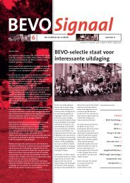 BEVO Signaal editie 2006 - vv BEVO
