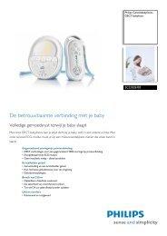 SCD505/00 Philips DECT-babyfoon