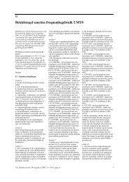 Beleidsregel sancties frequentiegebruik UMTS - milieuziektes