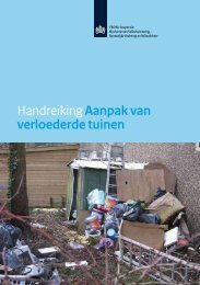 Aanpak van verloederde tuinen - Inspectie Leefomgeving en Transport