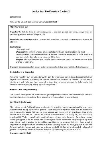 2. Kragpunt Leier Onderwys Gids Les 2