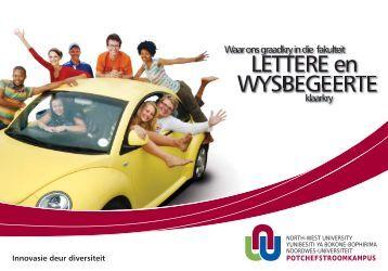 Lettere en Wysbegeerte - Potchefstroom University