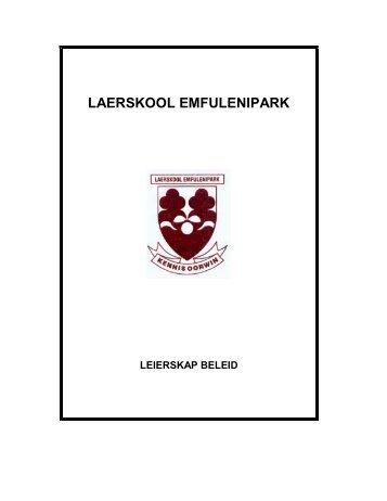 LAERSKOOL EMFULENIPARK - Emfulenipark.co.za
