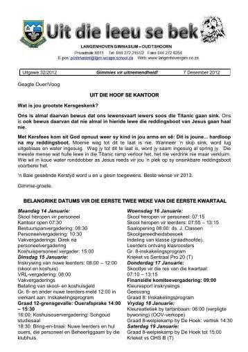 GIMMIE NUUS UITGAWE (32) 7 Desember 2012.pdf