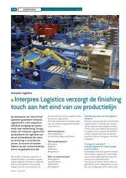 Lees meer - Interpres Logistics