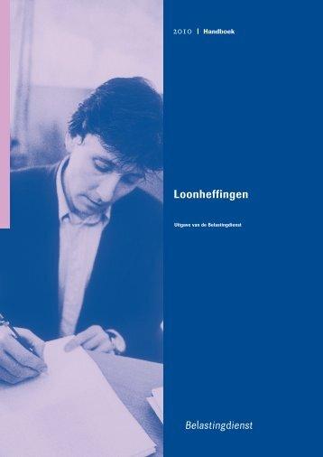 Handboek Loonheffingen 2010 - Schouten Enterprises - Welcome
