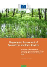 Mapping and Assessment of Ecosystems and their Services