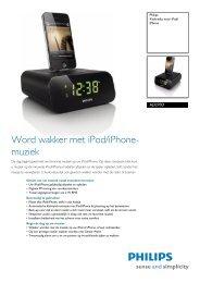 Word Wakker Met IPod/iPhone - Philips