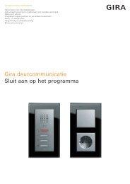 Gira deurcommunicatiesysteem