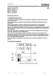 Dimactor 1-/2-/4-voudig (I02) - Gira