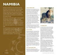 Namibia: Overview map & introduction - Expert Africa