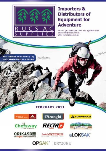 FEBRUARY 2011 - Rucsac Supplies