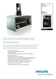 ORD2105B/12 Philips Original-radio in mini-uitvoering - Icecat.biz