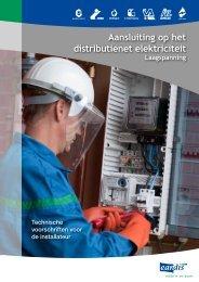 Aansluiting elektriciteit - Eandis