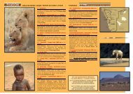 € 2 790 par personne en chambre double - Namikala Safaris