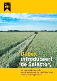 Selector folder (pdf) - Dubex bv