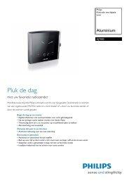 AJ7000/12 Philips Klokradio met digitale tuner - Icecat.biz