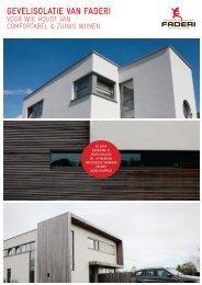 Download hier de gratis brochure van Faderi - faderi belgium nv