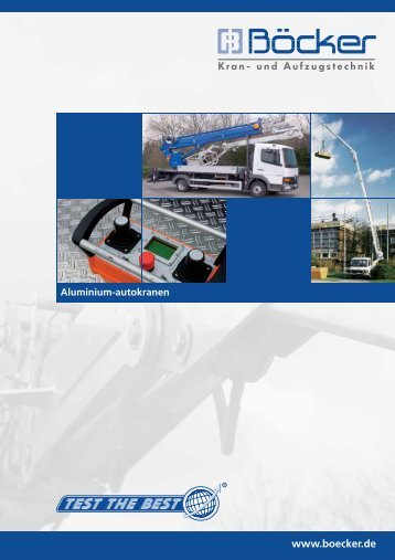 Productbrochure - Böcker - The Lifting Group