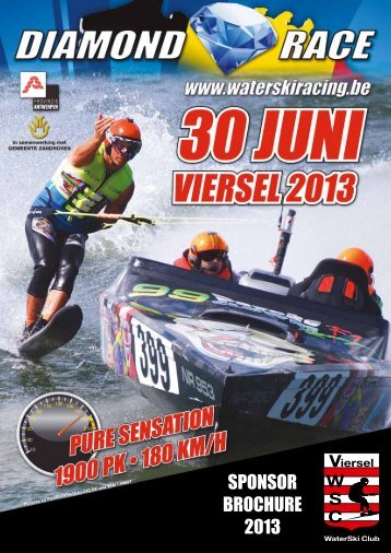 SPONSOR BROCHURE 2013 - Viersel Waterski Club
