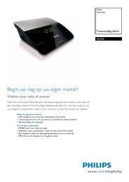 AJ3226/12 Philips Klokradio