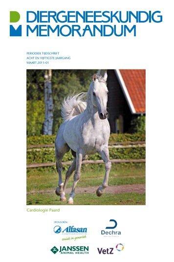 Cardiologie Paard - Diergeneeskundig Memorandum