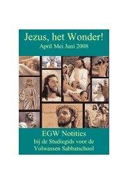 EGW Notities 2e kw 2008 - A4 model (PDF) - agp internet