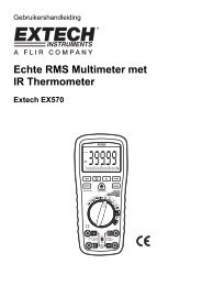 Echte RMS Multimeter met IR Thermometer