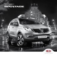 Prijslijst accessoires - Kia Motors America